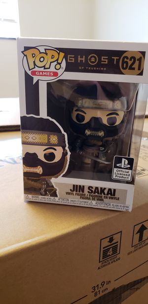 Jin Sakai Funko Pop for Sale in Alhambra, CA