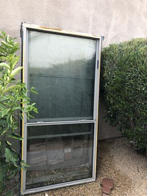 Two double hung window 36x 72 excellent condition best offer for Sale in Chandler, AZ