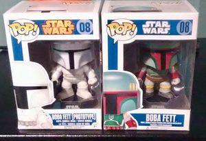 Funko Pop Star Wars Boba Fett & Prototype #08 Action Figure Set for Sale in Irwin, PA