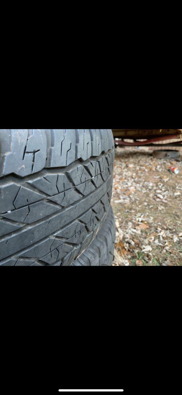 Toyota 4Runner tires