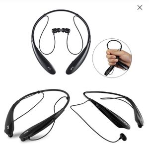 Sports Bluetooth Headset Wireless Stereo Music Headphone Neckband Style Earphones for iPhone Samsung Black Bluetooth wireless for Sale in Katy, TX