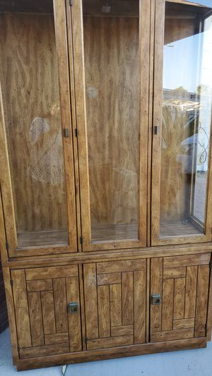 Kitchen Dish Cabinet for Sale in Fontana, CA