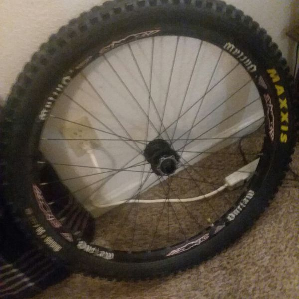 """26"""" azonic outlaw dh wheel, 20mm axle"""