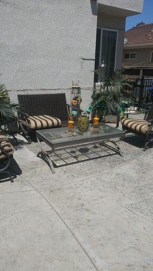 Patio wicker rocking furniture for Sale in Modesto, CA