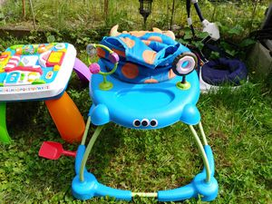 Baby play toys, roll around, and mini piano for Sale in Chimacum, WA