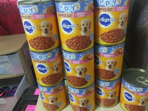 Pedigree puppy can food for Sale in Lancaster, OH