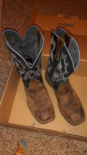 Ariat mens 10.5ee square toe boots for Sale in Cheney, WA