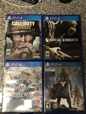 Used PS4 games for Sale in Rockville, MD
