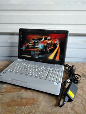 Toshiba laptop and charger for Sale in Spring, TX