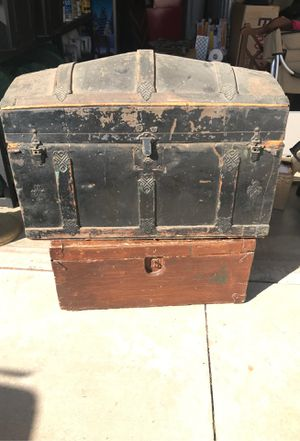 Two wooden chests for Sale in Chino Hills, CA