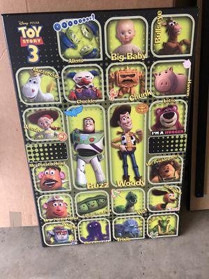 Toy story wall paintings for Sale in San Antonio, TX