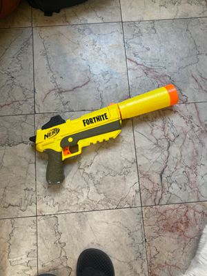 Fortnite nerf supressed pistol for Sale in Los Angeles, CA