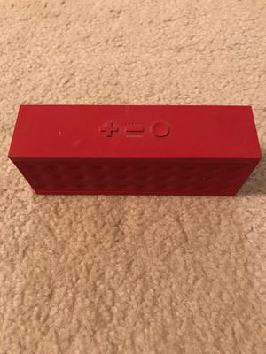 Jawbone JAMBOX - Red Dot portable Bluetooth wireless speaker for Sale in San Francisco, CA