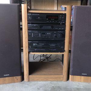 Panasonic Stereo & Speakers for Sale in Roseville, CA