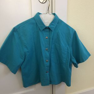 Turquoise Blouse (size 5/6) for Sale in Benicia, CA