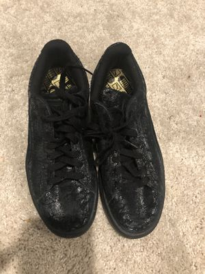 Black size 7 pumas for Sale in Fort Washington, MD
