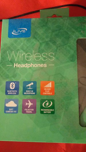 New sealed wireless Bluetooth on ear headphones for Sale in Silver Spring, MD
