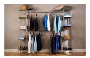 Seville Classics Expandable Closet Organizer, SHE05813BZ for Sale in Austin, TX