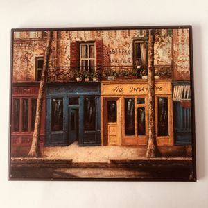 "Cute wooden wall hanging decoration picture 9.5""x8"" for Sale in Saint Albans, WV"