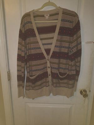 Button up cardigan - XXL for Sale in Tacoma, WA