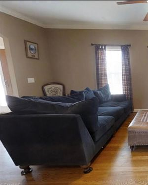 Blue sectional couch for Sale in Lawsonville, NC