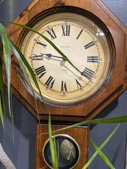 Verichron Schoolhouse Wall Clock Pendulum for Sale in La Habra,  CA