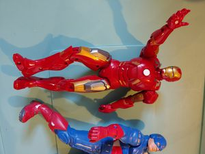 Marvel talking 12 inch action figures for Sale in West Chicago, IL