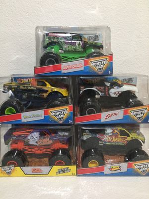 Monster trucks collectibles for Sale in Newman, CA