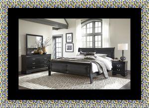 11pc black Marley and bedroom set for Sale in Riverdale Park, MD
