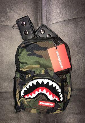 #SPRAYGROUND SLING BAG #camo for Sale in Washington, DC