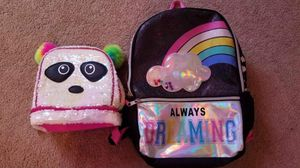 Girls Bookbag and Lunchbox for Sale in Saint Clairsville, OH