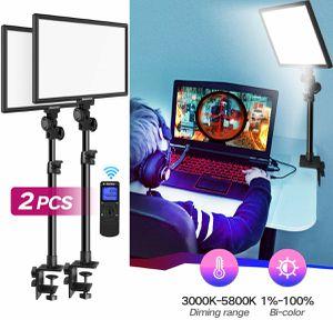 2x desk mounted LED lights for Sale in Holt, MI