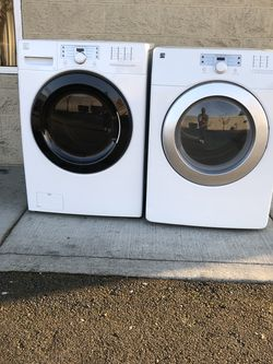 Kenmore Washer Dryer Set Stackable for Sale in Tacoma,  WA