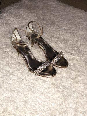 Gold Metallic Caparros Heels for Sale in College Park, GA