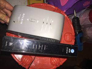 DSL AT&T uverse internet wireless modem external battery for Sale in Chicago, IL