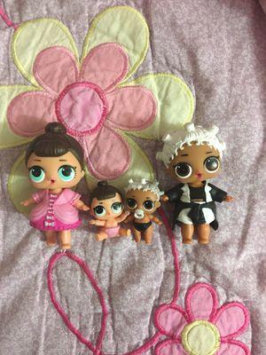 Lol dolls (4) for Sale in Woodbridge, VA