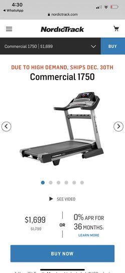 Nordictrack treadmill for Sale in Los Angeles,  CA