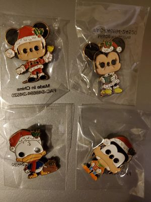 Christmas Disney Funko Pop! Pins for Sale in San Diego, CA