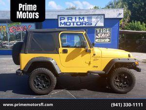 2001 Jeep Wrangler for Sale in Sarasota, FL
