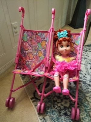 Twin double Doll stroller ! Doll NOT included! for Sale in Cape Coral, FL