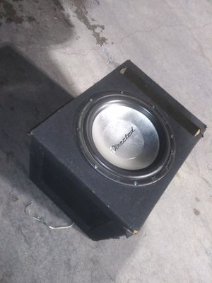 12 inch Subwoofer Bass Boom Box with Ported Enclosure for Sale in Rialto, CA