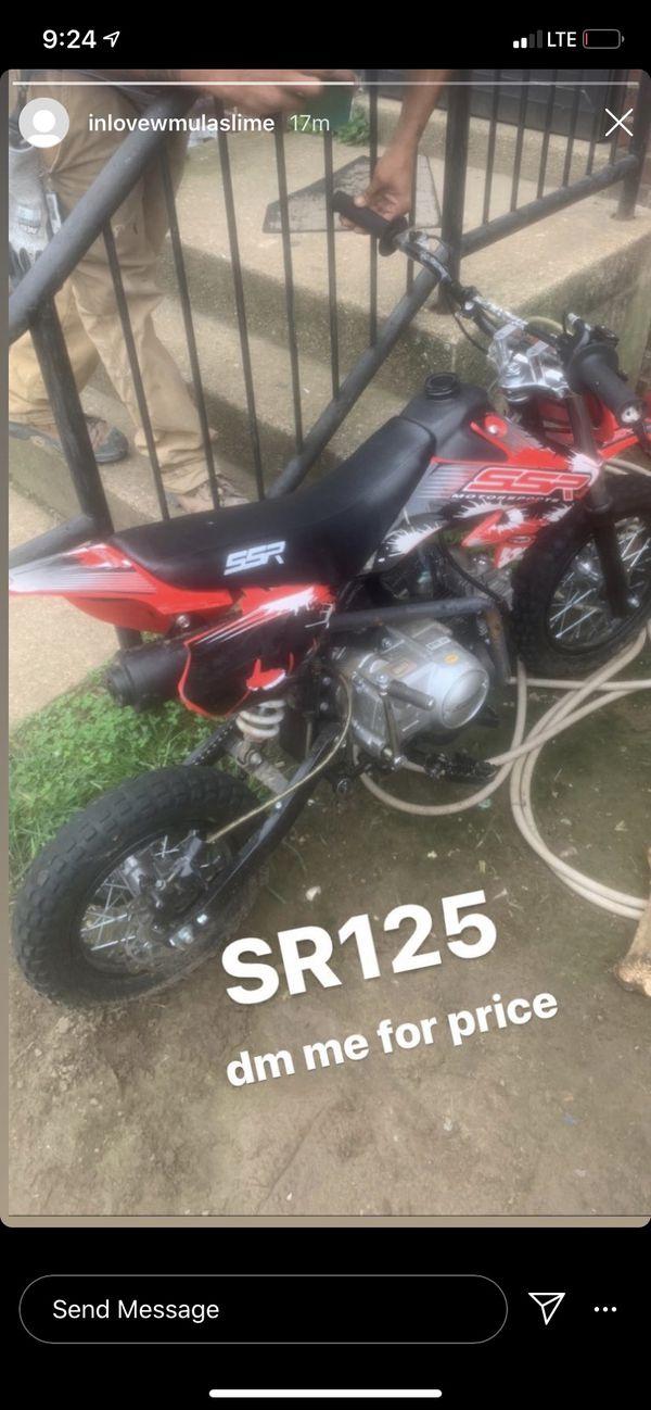 Dirt bike for sell