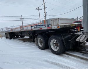 2007 48 Foot Utility Flatbed Trailer for Sale in Bensenville, IL