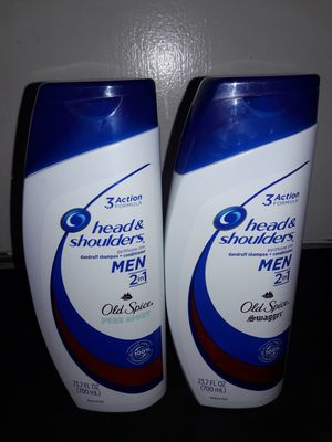 Head & Shoulders Old Spice 2in1 Shampoo+Conditioner 23.7 fl oz Bundle: 2 for $12 for Sale in Garland, TX