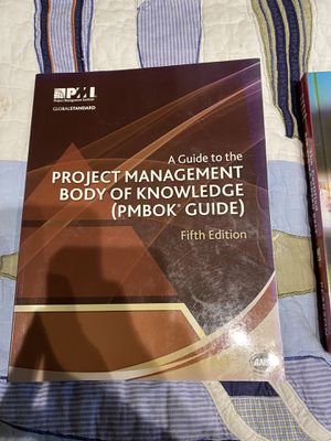 A Guide to the Project Management Body Of Knowledge (PMBOK Guide) fifth edition for Sale in Arlington Heights, IL