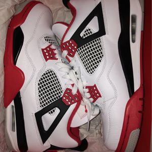 Fire Red Jordan 4s for Sale in Raleigh, NC