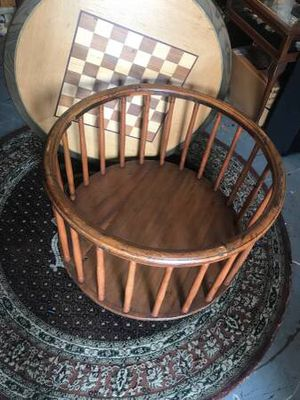 Playpen Antique Round Wood Amish for Sale in Newport Beach, CA