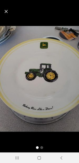 Jhon deer plate for Sale in Apache Junction, AZ