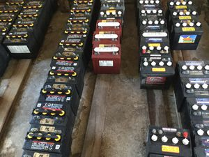 Brand Name Reconditioned Golf Cart Batteries $45. for Sale in Coconut Creek, FL