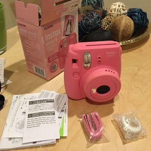 Fujifilm Instax Mini 9 Instant Camera, Flamingo Pink for Sale in College Park, MD